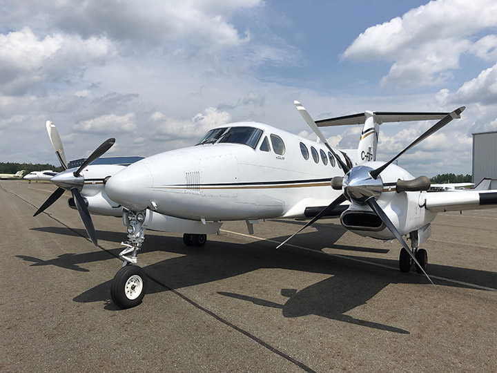 King Air 300 on Tarmac