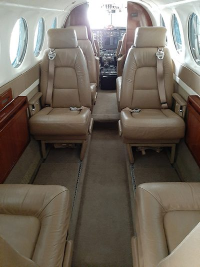 King Air 300 Seating