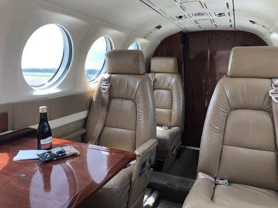 King Air 300 Passenger Cabin