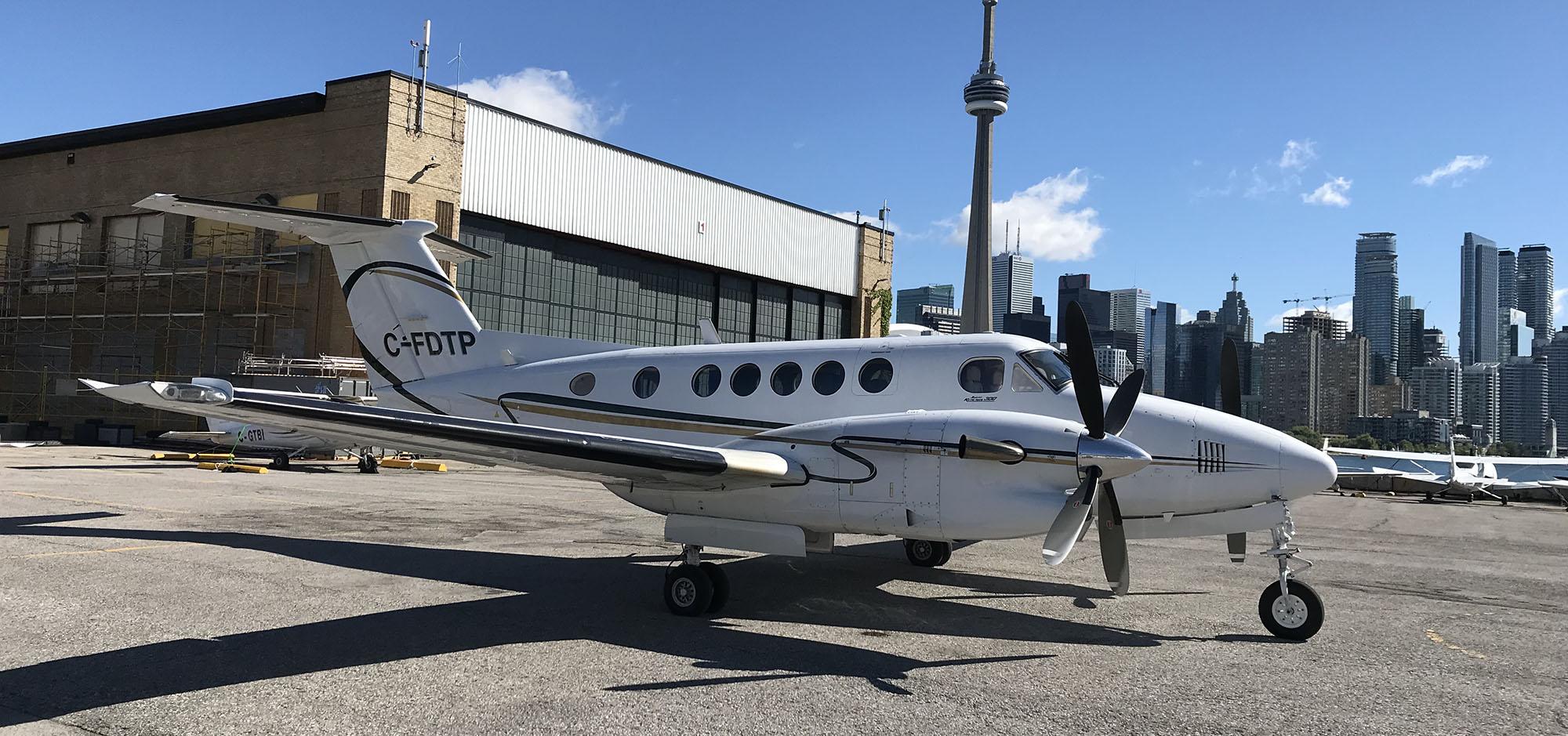 President Air Charter King Air 300