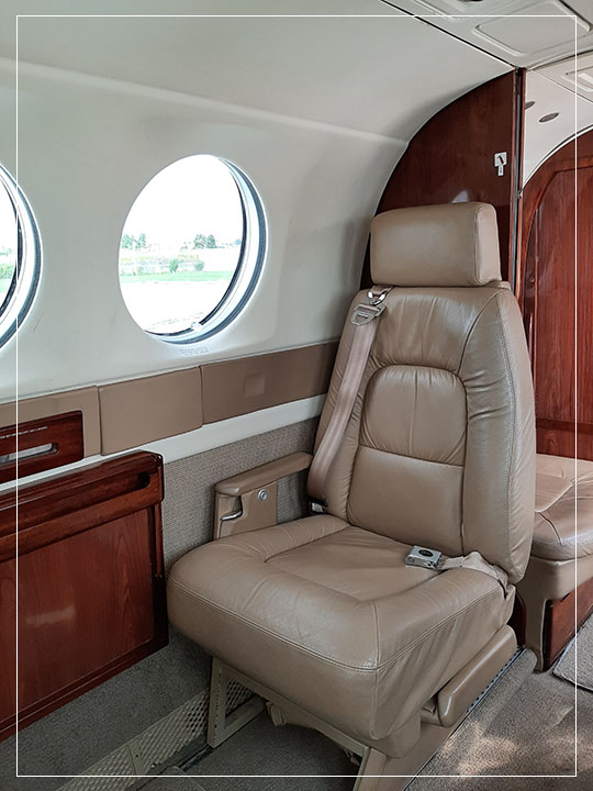 King Air Leather Seat